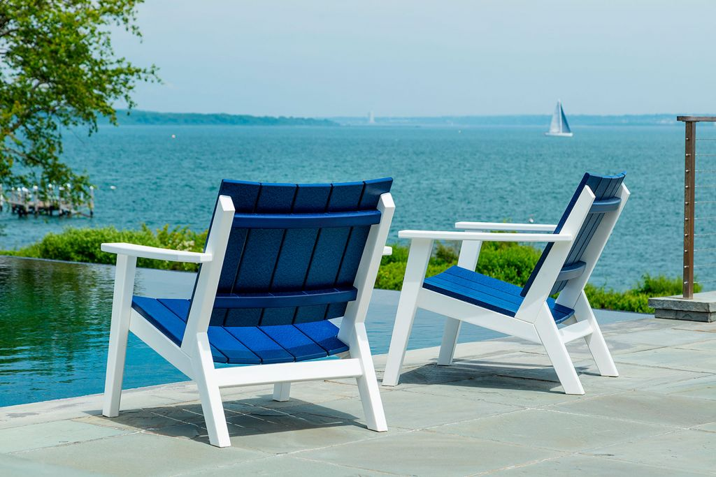 Seaside Casual Mad Fusion Chat Chair Leisure Living