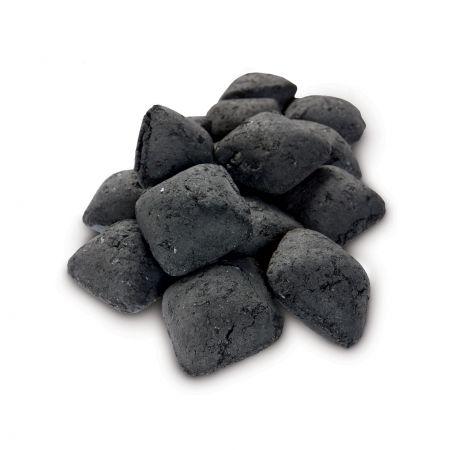 A Pile Of Weber Charcoal Hardwood Briquettes