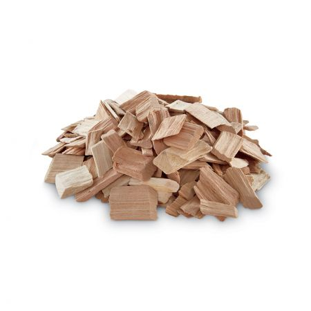 A Pile Of Weber Cherry Wood Chips