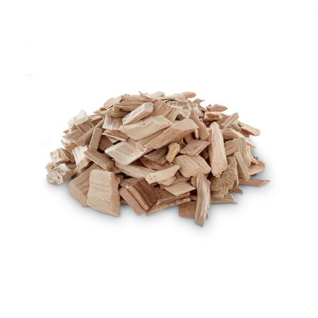 A Pile Of Weber Apple Wood Chips