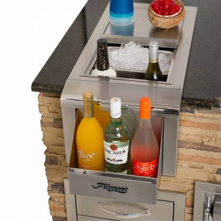 Alfresco 14 Built-In Beverage Center With Sink