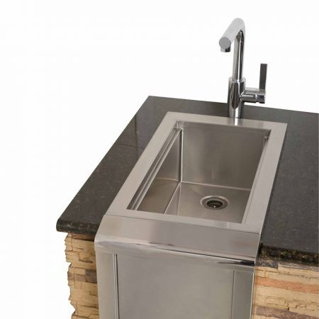 Alfresco 14 inch Main Sink.Faucet not included