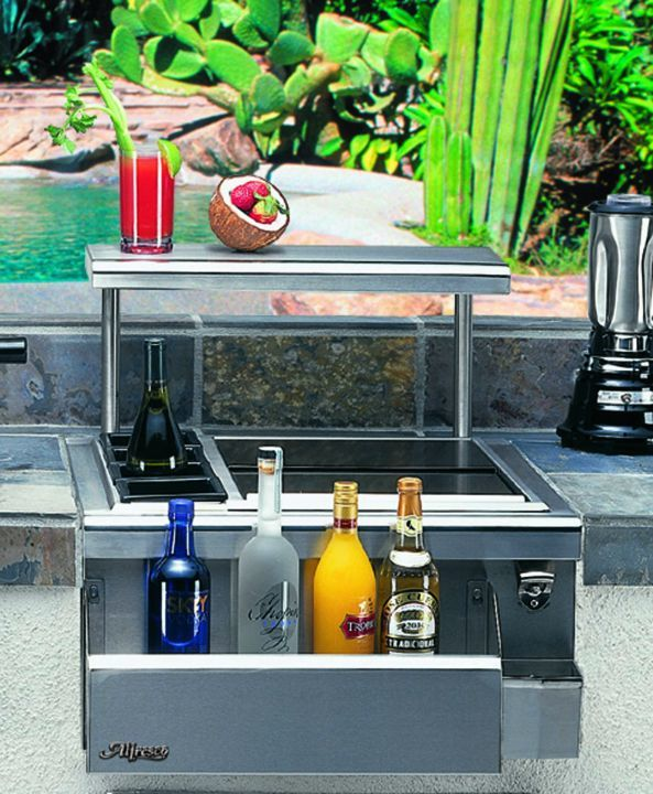 Alfresco 24″ Beverage Center with Versa Sink