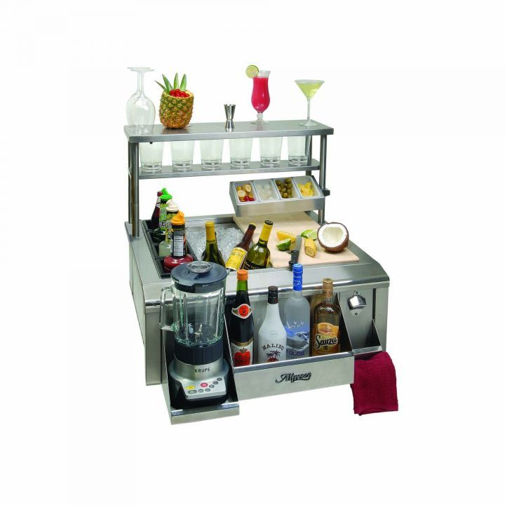 Alfresco 30″ Beverage and Prep Center with Versa Sink