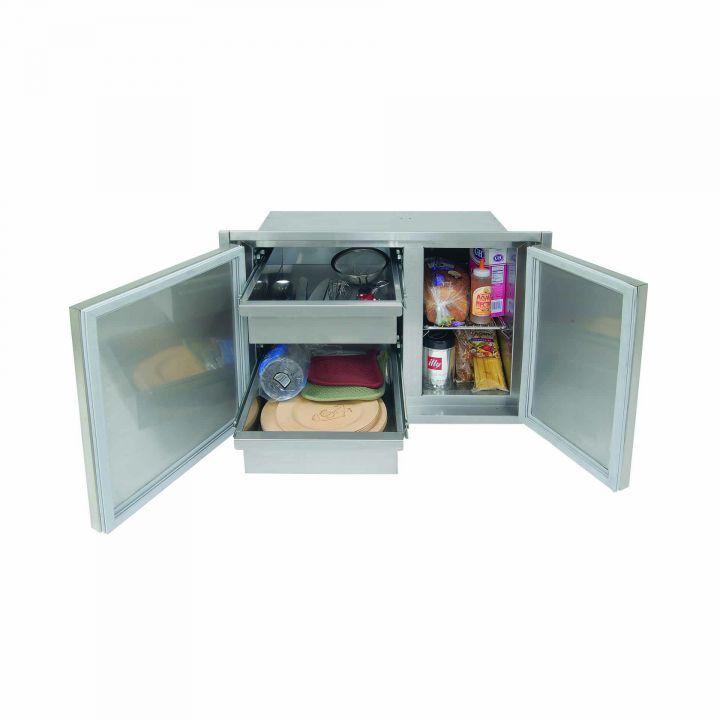 Alfresco 30″ Low Profile Sealed Dry Storage Pantry