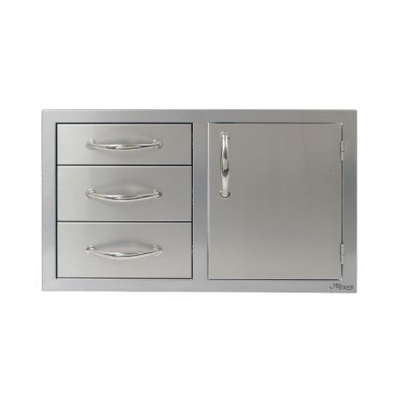 Alfresco 32 Combo Door and Triple Drawers