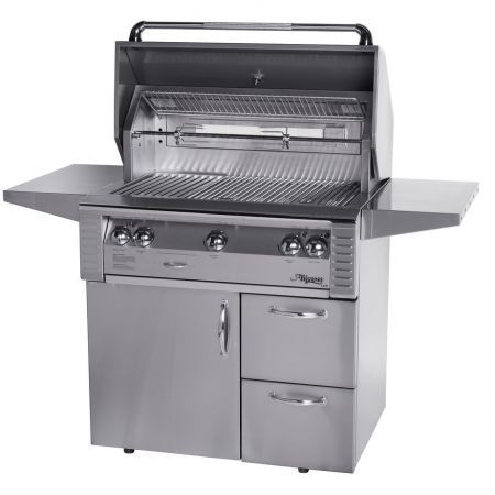 Alfresco 36 Sear Zone Grill on Deluxe Cart