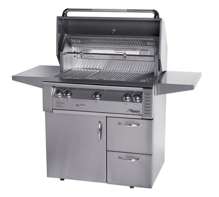 Alfresco 36″ Sear Zone Grill on Deluxe Cart