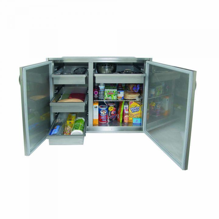 Alfresco 42″ Low Profile Sealed Dry Storage Pantry