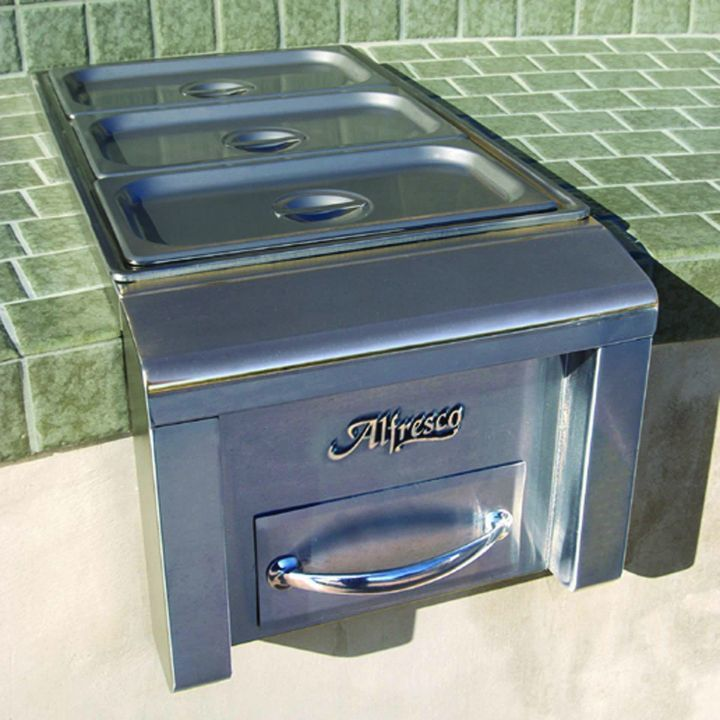 Alfresco Built-In Food Warmer / Steam Table