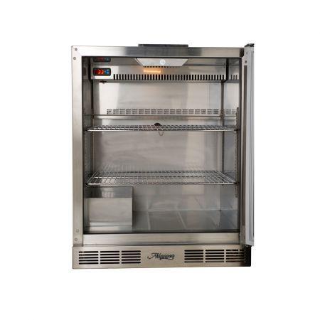 Alfresco One Door Refrigerator Empty