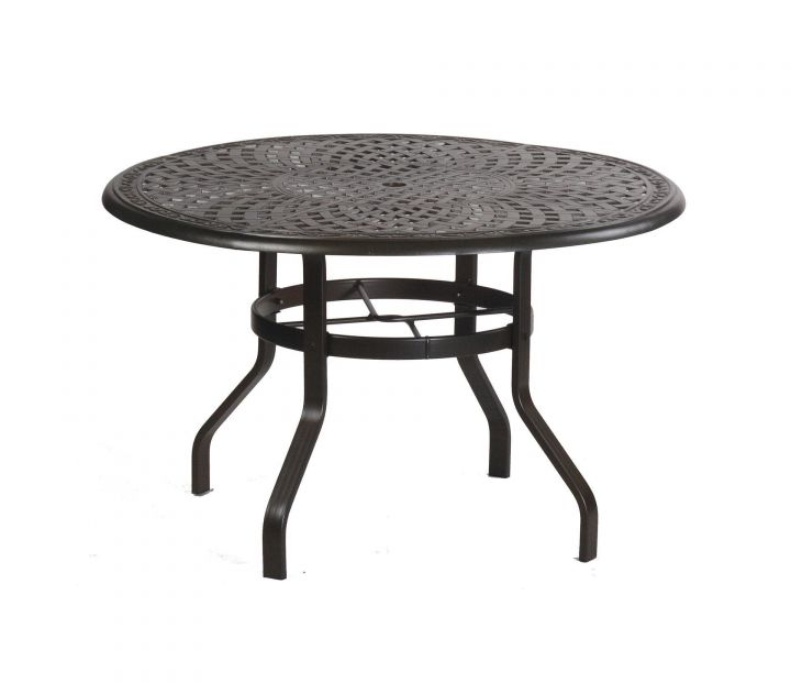 Alumont Waverly 42 Round High Dining Table Leisure Living