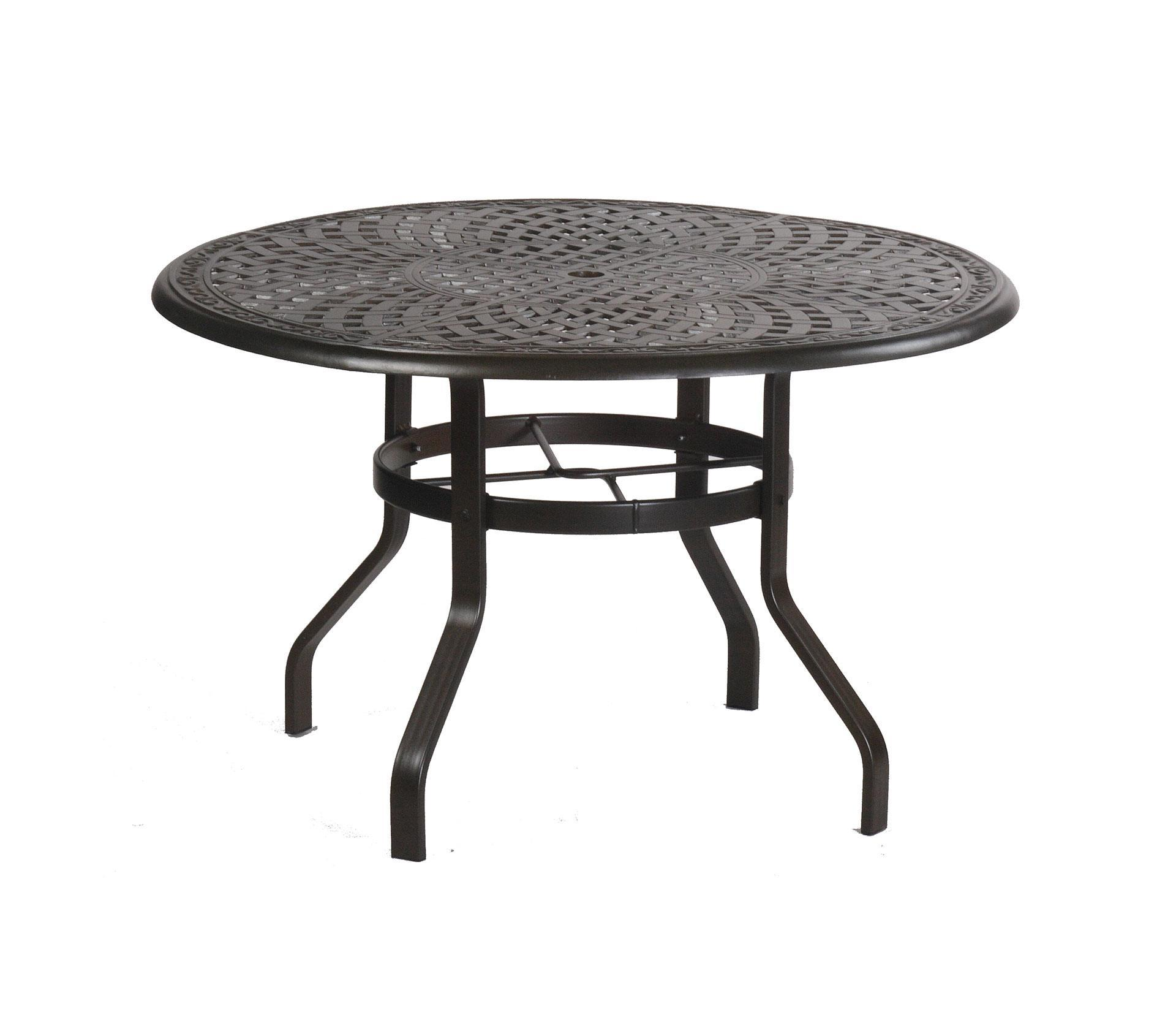 High Round Dining Table: Alumont Waverly 42 Round High Dining Table