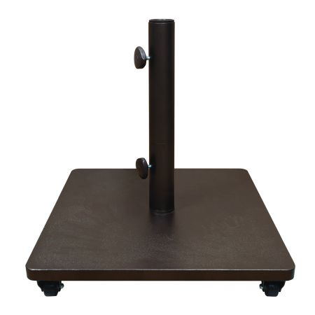 Treasure Garden Steel Umbrella Base With Casters