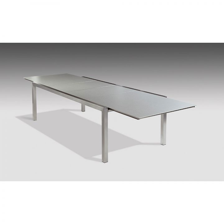 Barlow Tyrie Equinox 142-94X44inch Extension Dining Table