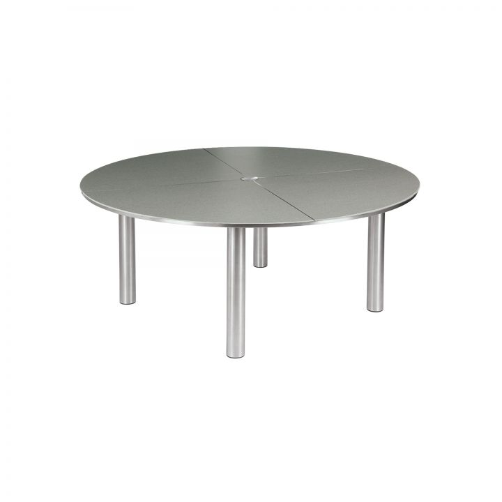 Barlow Tyrie Equinox 71″ Round Dining Table