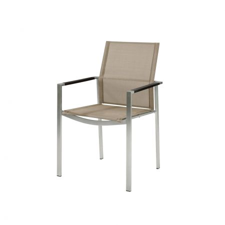Barlow Tyrie Mercury Dining Arm Chair