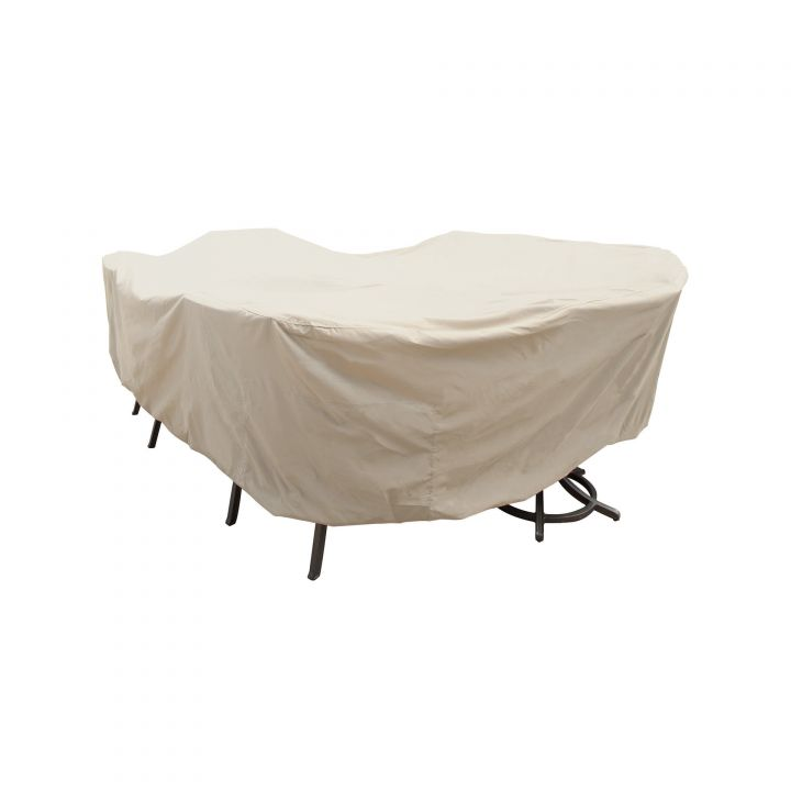 Treasure Garden X-Large Oval/Rectangle Table with Chairs Protective Cover