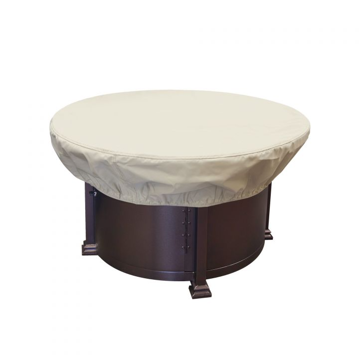 Treasure Garden 36-42″ Round Chat Table or Fire Pit Protective Cover