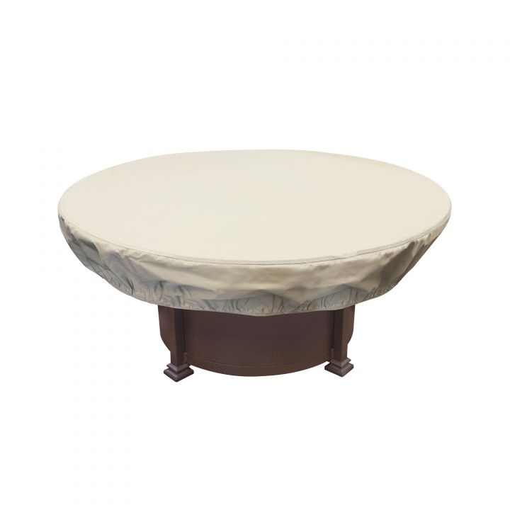 Treasure Garden 48-54″ Round Chat Table or Fire Pit Protective Cover