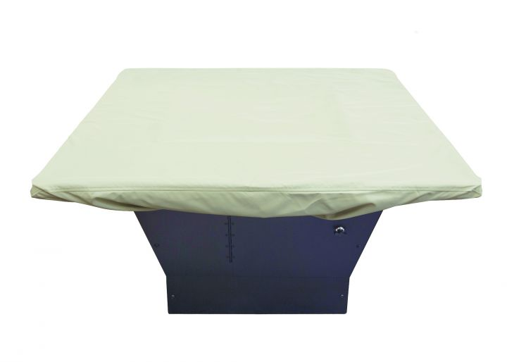 Treasure Garden 42-48″ Square Chat Table or Fire Pit Protective Cover