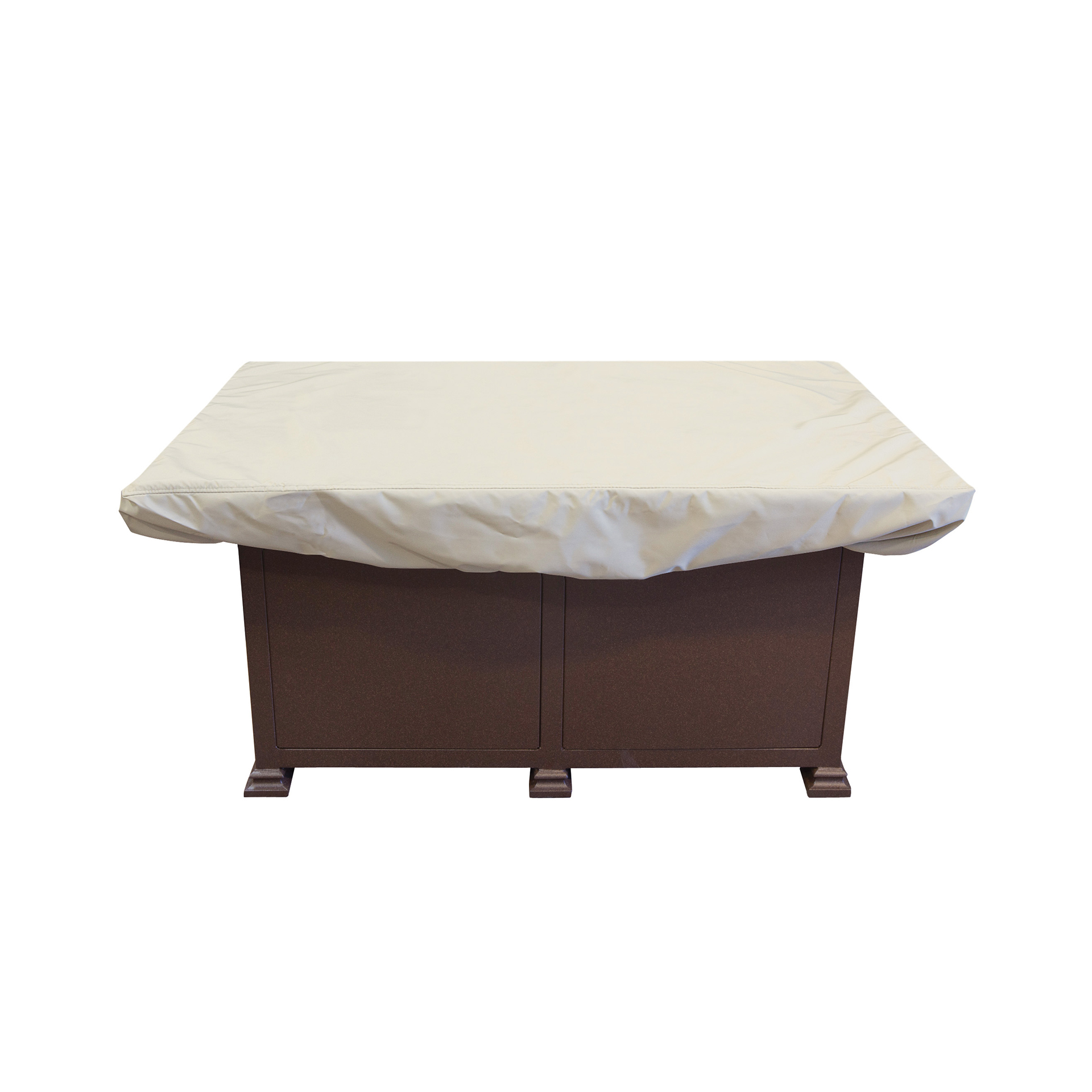 Treasure Garden 50x30 Quot Rectangular Chat Table Or Fire Pit