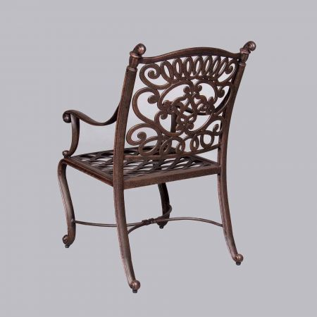 Cast Classics Brenna Premium Dining Chair Back View