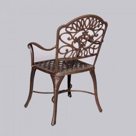 Cast Classics Brenna Standard Dining Chair Back View