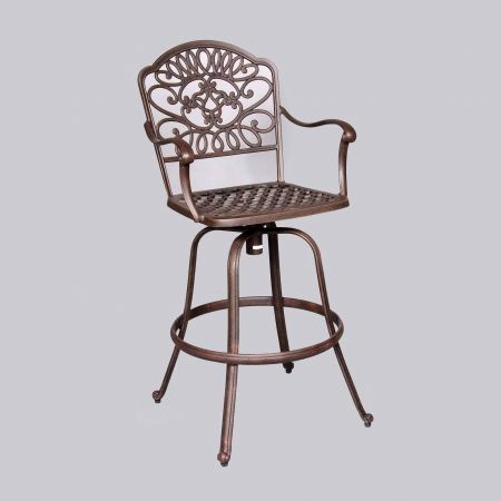 Cast Classics Brenna Standard Swivel Bar Stool