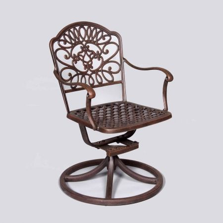 Cast Classics Brenna Standard Swivel Dining Chair