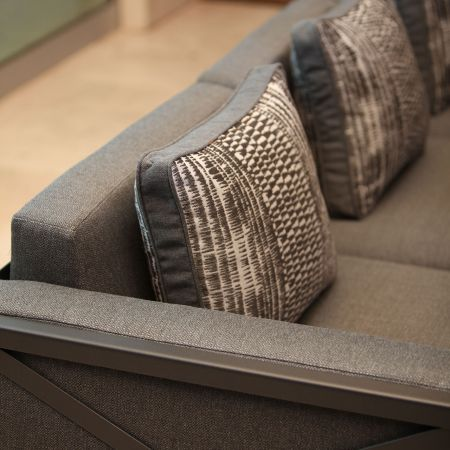 Close-Up Of Tailored Cushions And Pillows For The OW Lee Creighton Collection