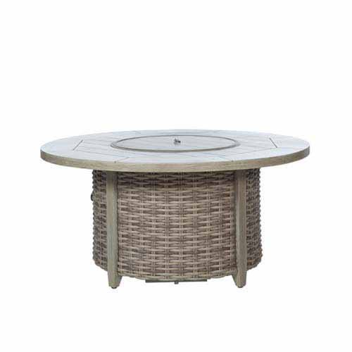 Ebel Fire Pit 50 Round Top and Base with lid 2