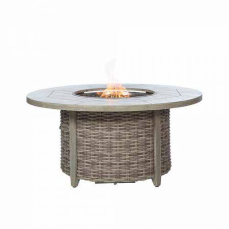 Ebel Fire Pit 50 Round Top and Base with lid