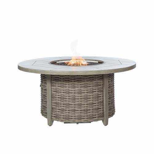 Ebel Fire Pit 50″ Round Top and Base with Lid