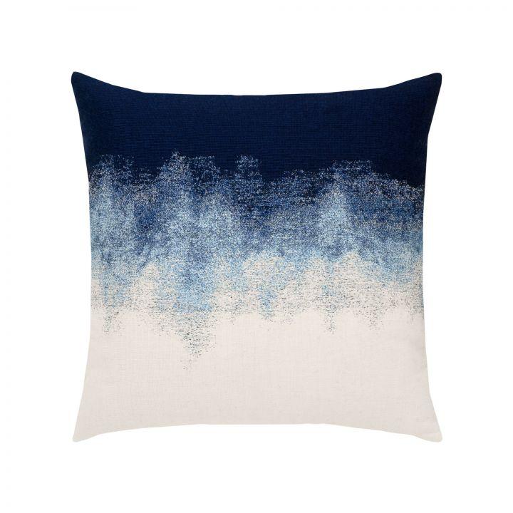 Elaine Smith Artful Midnight Throw Pillow