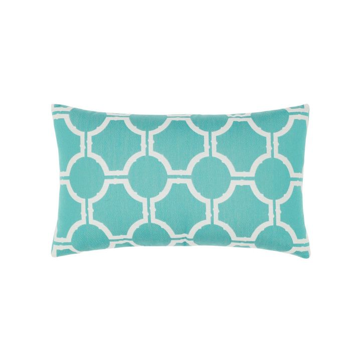Elaine Smith Aruba Gate Lumbar Pillow