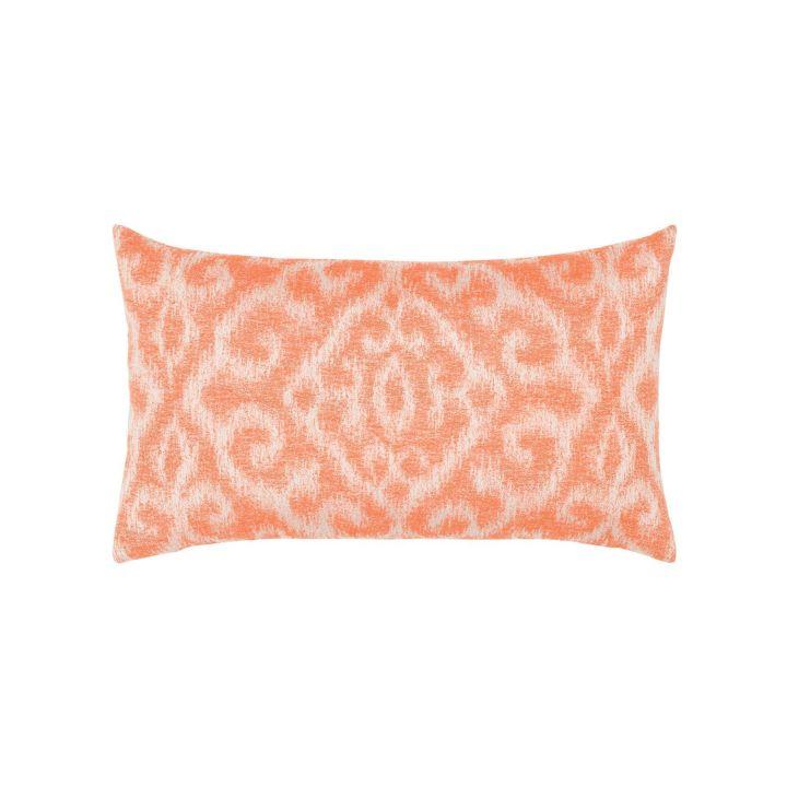 Elaine Smith Bali Coral Lumbar Pillow