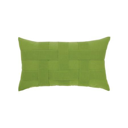 Elaine Smith Basketweave Ginkgo Lumber Pillow