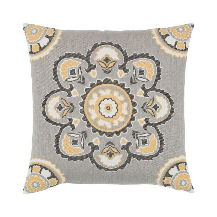 Elaine Smith Bukhara Eclipse Throw Pillow