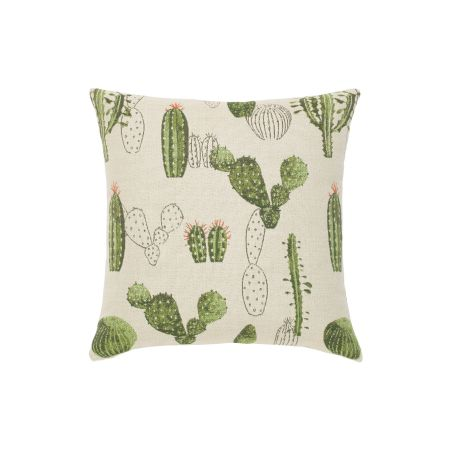 Elaine Smith Cacti Throw Pillow