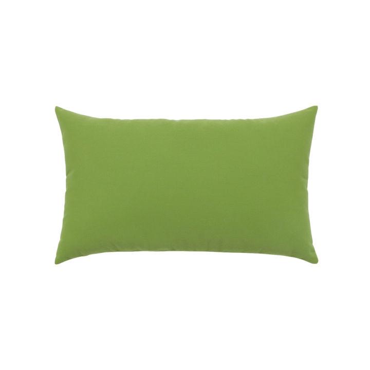 Elaine Smith Canvas Gingko Lumbar Pillow