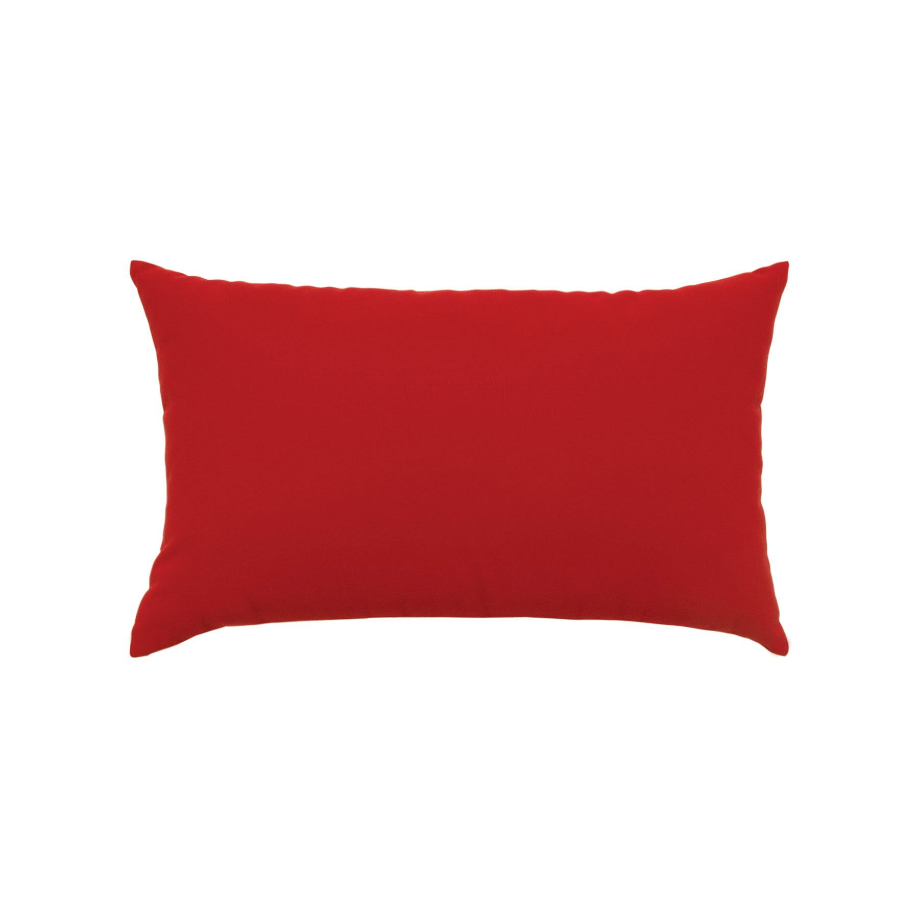 Elaine Smith Canvas Jockey Red Lumbar Pillow Leisure Living