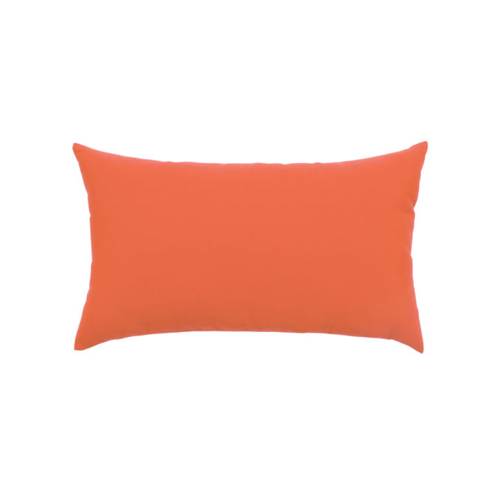 Elaine Smith Canvas Melon Lumbar Pillow
