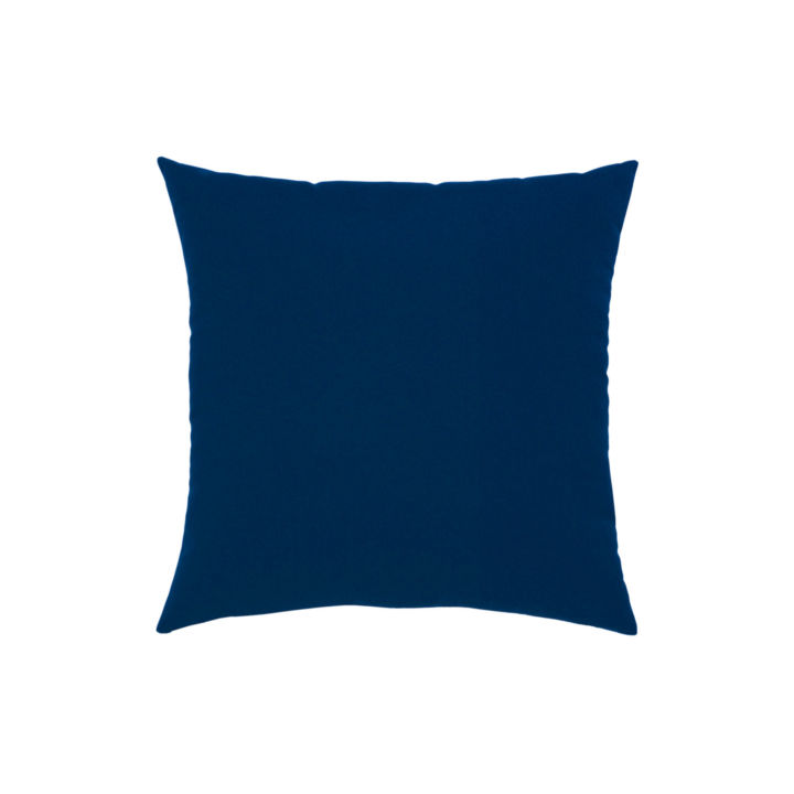 Elaine Smith Canvas Navy Throw Pillow
