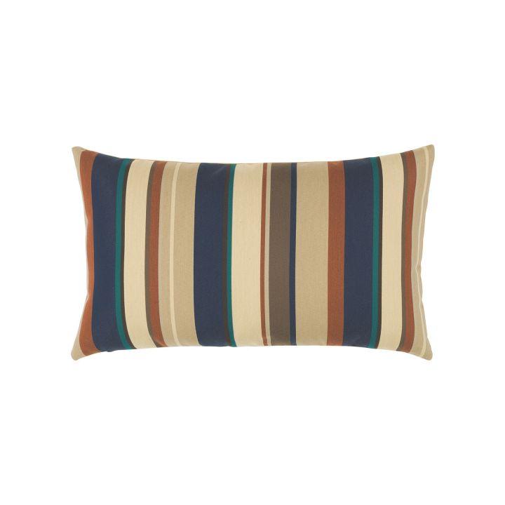 Elaine Smith Copper Mountain Stripe Lumbar Pillow
