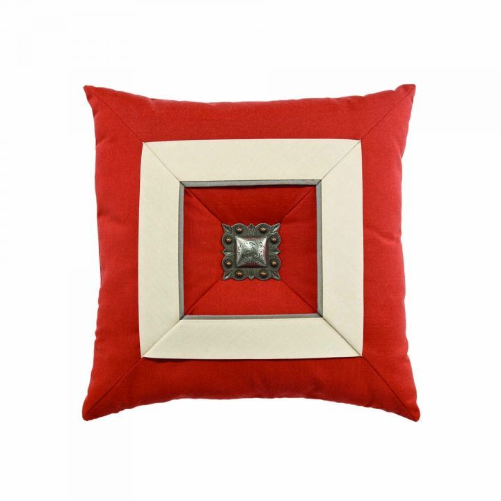 Elaine Smith Coral Cruise Jewel Throw Pillow