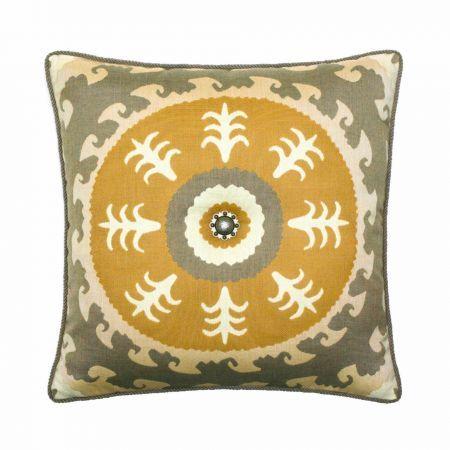 Elaine Smith Corded Sedona Sun Throw Pillow