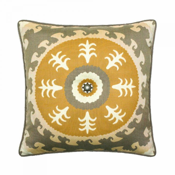 Elaine Smith Corded Sedona Sun Throw Pillow