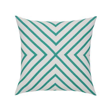 Elaine Smith Corfu Stripe Throw Pillow