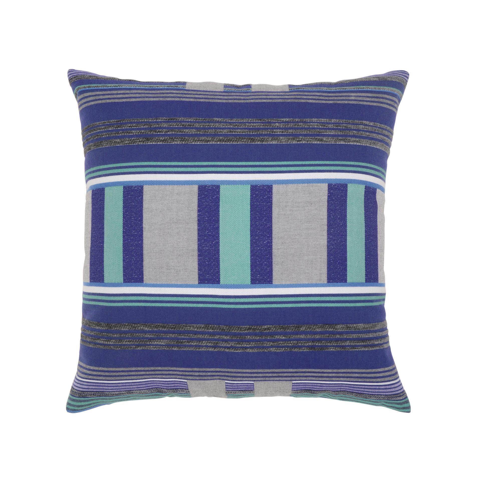 Elaine Smith Gradient Stripe Throw Pillow Leisure Living